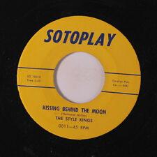 STYLE KINGS: Kissing Behind The Moon / Under The Tropical Sky 45 rare Vocal Gro