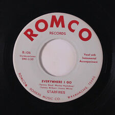 STARFIRES: Everywhere I Go / Something Else 45 rare Rockabilly