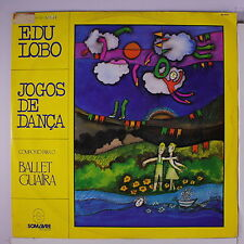 EDU LOBO: Jogos De Danca LP (Brazil, '81, sm tag/woc, some cw, promo stamp on l