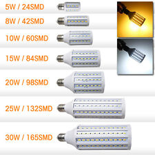 Hot E27 E14 15W 12W 8W 5W SMD 5050 LED Lights Energy Saving LED Corn Lamp Bulb