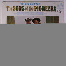 SONS OF THE PIONEERS: Best Of The Sons Of The Pioneers LP Sealed (Mono) Country