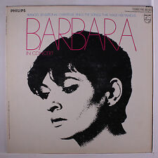BARBARA: In Concert LP (WLP, slight cover wear) Vocalists