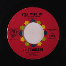 ED TOWNSEND: Stay With Me / I Love Everything About You 45 Soul