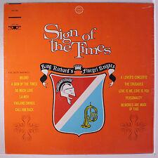 KING RICHARD'S FLUEGEL KNIGHTS: Sign Of The Times LP Sealed Oldies
