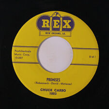 CHUCK CARBO & GROUP: Promises / Be My Girl 45 Vocal Groups