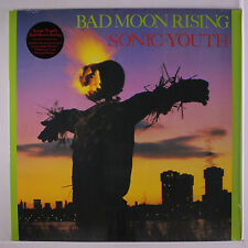 SONIC YOUTH: Bad Moon Rising LP Sealed (reissue, w/ download that includes bonu