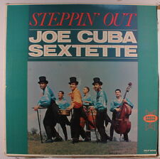 "JOE CUBA: Steppin' Out LP (later press, 3"" bottom seam split) Latin"