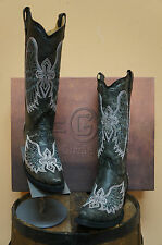 LADIES CIRCLE G COWGIRL BOOTS BY CORRAL! L5049! WINGS & CROSS DESIGN! NIB!!