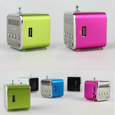 Portable Mini Micro SD TF USB Stereo Speaker Music Player FM Radio F/ PC MP3 MP4