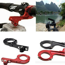 Bicycle Aluminum Motorcycle Handlebar Mount Adapter For Gopro Go Pro 1 2 3 3+ 4