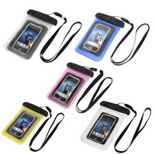 """Underwater Waterproof Case Dry Bag Cover Pouch Holder for 4"""" Cell Phone"""