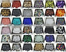Wholesale Natural Gemstone Round Spacer Beads 4mm 6mm 8mm 10mm 12mm Pick