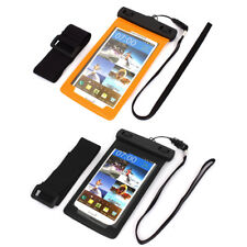 """Underwater Waterproof Case Dry Bag Skin Cover Saver Pouch for 5.5"""" Cell Phone"""