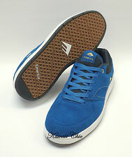 New! Emerica Blue Gold Suede The HERITIC Men's Skate Shoes US 10 / 11