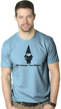 Oh Gnome You Didn't T Shirt Funny Pun Classic Quote Tee