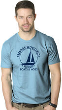 Prestige Worldwide Boats And Hoes T-Shirt Funny Classic Sailing Movie Tee Movie