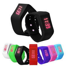 Mens Womens Sports Watch Silicone Date LED Watch Digital Wristwatch Casual WATCH