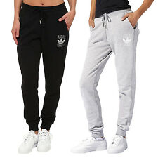 adidas Originals Womens Ladies Slim Fit Casual Tracksuit Track Pants Bottoms
