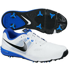 NEW Nike Mens Lunar Command Golf Shoe - White/Blue - Choose Size