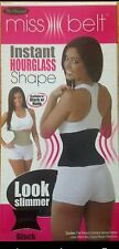 MISS BELT INSTANT HOURGLASS SHAPE LOOK SLIMMER NEW IN ORIGNAL BOX AS SEEN ON TV