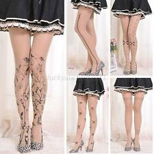 Trendy Sexy Tattoo Pattern Temptation Sheer Pantyhose Socks Tights Stockings