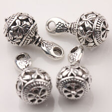 20*10mm Tibet Silver Hollow Carving Butterfly Beads Charm Pendant 10/20Pcs