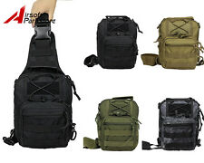 Molle Shoulder Backpack Tactical Military Outdoor Camping Hiking Trekking Bag