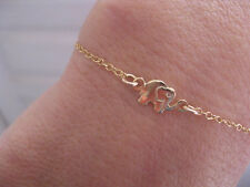 Gold Elephant Bracelet Simple and Minimalist Cute Charm Jewelry Good Luck Symbol