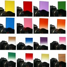 Colours Square Full Graduated Gradual Lens Filter for Cokin P Series ND2 ND4 ND8