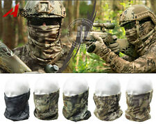 Tactical Camouflage Quick Dry Scarf Hood Half Face Mask Military Outdoor Hunting