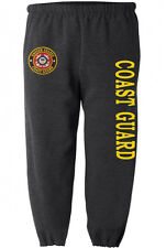 US Coast Guard sweatpants Men's size us coast guard sweats sweat pants dark gray