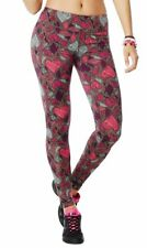 Zumba - Zumba Party In Pink (tm) Perfect Long Leggings 2015! Pink Gray Free Ship
