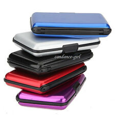 Hot Luxurious Aluminum Case Protector Aluma Wallets Credit Cards Holders Wallets