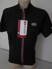 SUGOI MEN'S RS PRO FIT BLACK CYCLING JERSEY MENS S SMALL  NEW