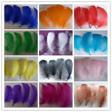 Wholesale 20/50/100pcs natural goose feather floating 10-15cm / 4-6inch