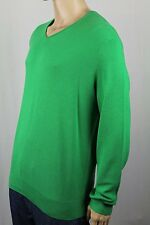 Polo Ralph Lauren Green Cashmere V-neck Sweater NWT $145