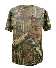 John Deere Camo T-Shirt - Mossy Oak Break Up Infinity - With Pocket