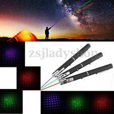 1mW Star Cap 2 In 1 Laser Pointer Pen Clip Visible Beam Light 5 Mile Range