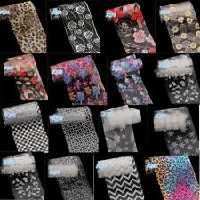 14 Mix Shape Nail Art Foil Stickers Transfer Decal Tips Manicure Nail Art Decals