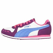 Puma Cabana Racer SL JR Purple Pink Kids Youth Running Shoes Sneakers 351979-35