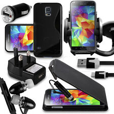 25.4cm 1 Bundle Accessory Kit Case Car Holder Charger For Samsung Galaxy S5