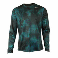 Mens Nike Dry Dri FIT Sublimated Running Shirt Training Top Gym Tee Size S-XXL