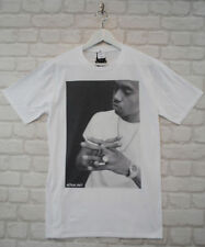 Actual Fact Nas White Hip Hop Rapper Urban Crew Neck Tee T-shirt