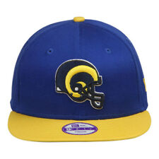 New Era 9fifty Bay Cik St Louis Rams Snapback Flat Peak Hat Cap