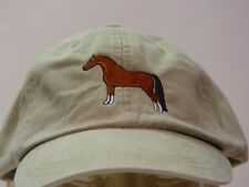 ARABIAN HORSE HAT ADAMS BASEBALL LADIES MEN BASEBALL CAP - Price Embroidery