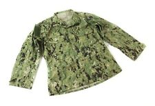 US Navy NWU Type III Uniform Shirt - AOR2 Blouse Top USGI Issue Green Digital