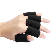 Portable 10pcs Stretch Sports Basketball Finger Guard Support Sleeves Protector