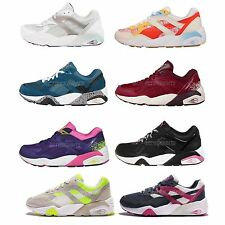 Puma R698 Series Trinomic Womens Retro Running Shoes Sneakers Trainers Pick 1