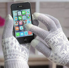 Magic Fashion Touch Screen Glove Smartphone Texting Stretch One Size Winter Knit