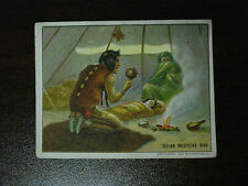 1910 Helmar T73 Indian Life In The 60's Indian Medicine Man Free Shipping